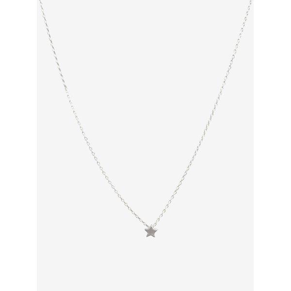 Lant argintiu cu pandantiv stea - VILA Efj Star