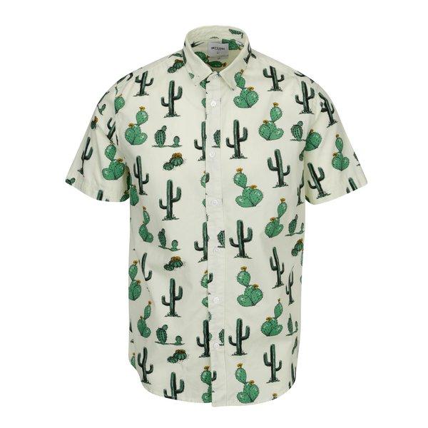 Camasa verde deschis cu print cactusi ONLY & SONS Cool