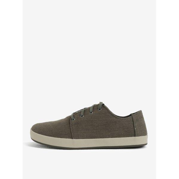 Pantofi casual kaki cu siret pentru barbati TOMS