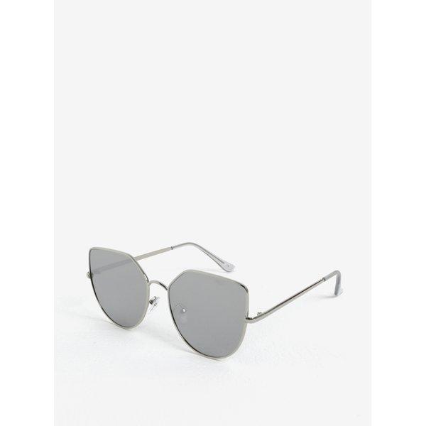 Ochelari de soare argintii pentru femei - Jeepers Peepers
