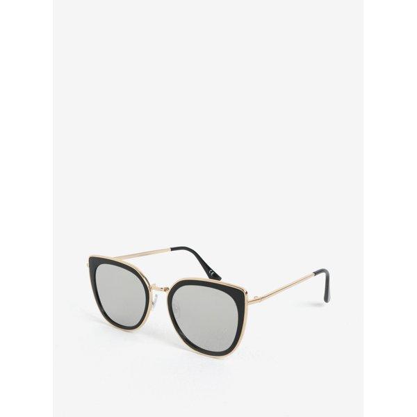 Ochelari de soare cu detalii aurii pentru femei - Jeepers Peepers