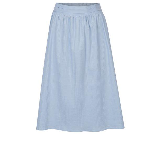 Fusta bleu cu dungi si talie elastica – VERO MODA Sia
