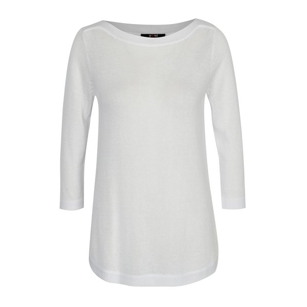 Bluza alba semitransparenta – Yest