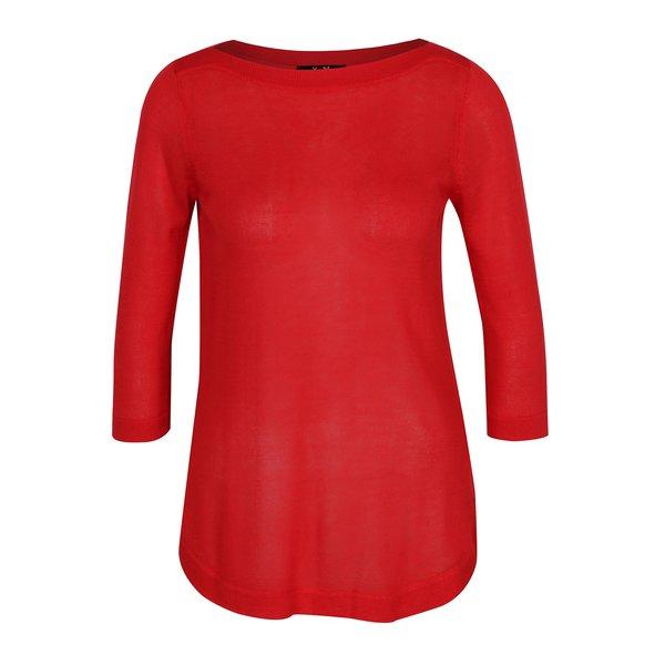 Bluza rosie semitransparenta – Yest