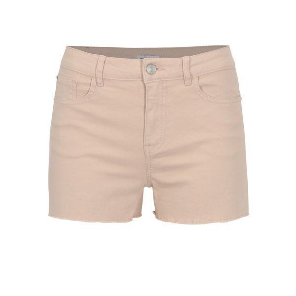 Pantaloni scurti din denim roz pal – Jacqueline de Yong Cate