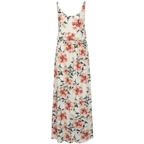 Rochie maxi alba cu print floral Haily´s Doris