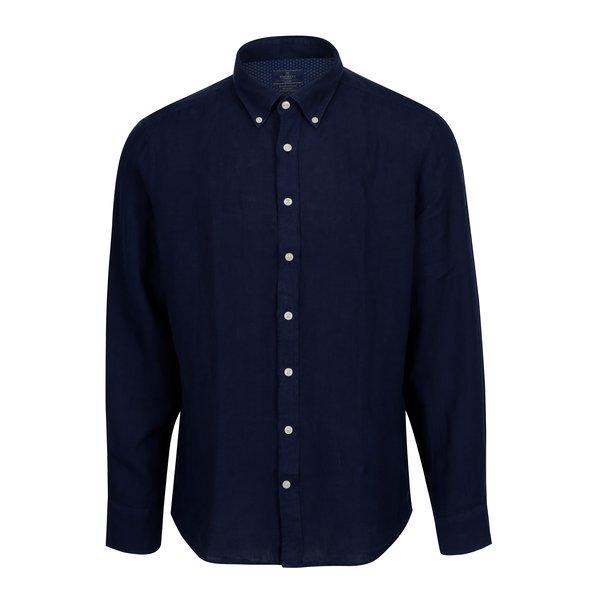 Camasa bleumarin slim fit din in Hackett London
