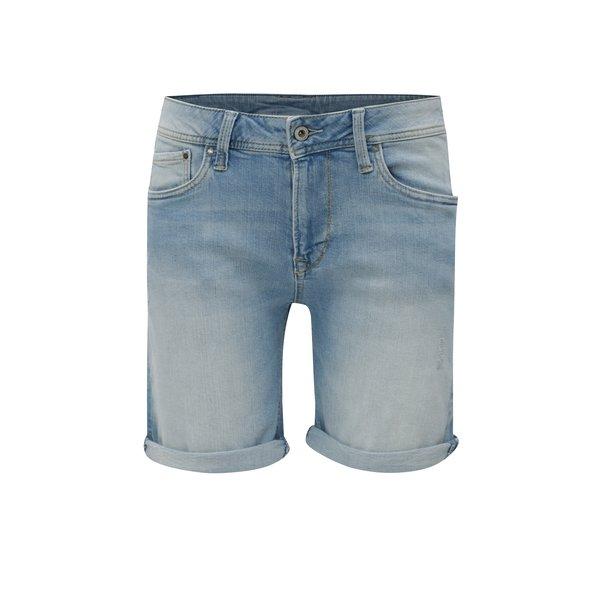 Pantaloni scurti bleu din denim pentru femei – Pepe Jeans Poppy