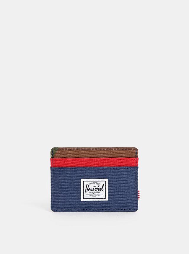 558579c6cf Neónovo oranžová peňaženka Herschel Roy