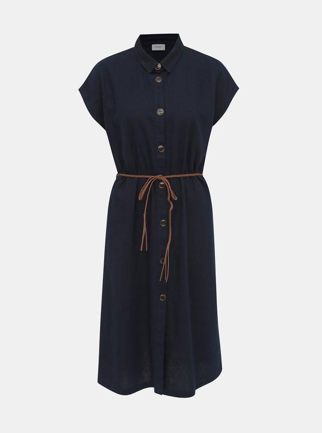 d9e5ff848d Bielo-čierne pruhované šaty ONLY May