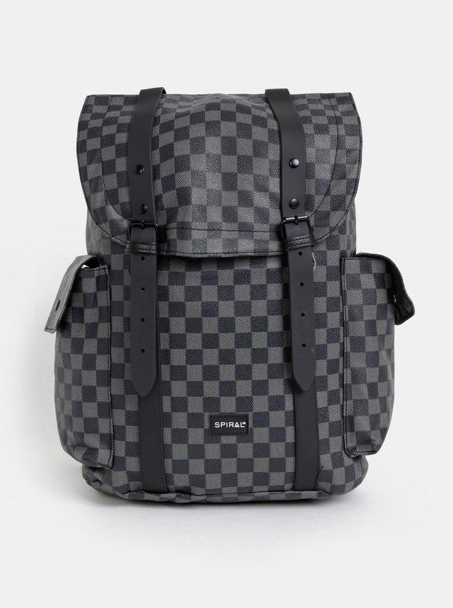 2e5901222 Svetlosivý koženkový batoh s predným vreckom ZOOT | ZOOT.sk