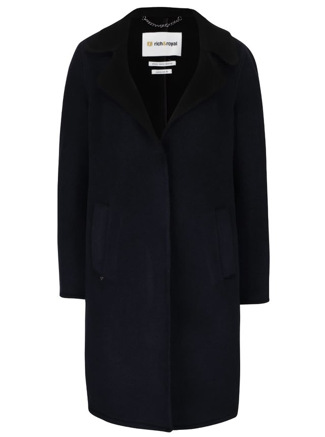 6ddef5e2c1 Tmavomodrý kabát ONLY New Phoebe | ZOOT.sk