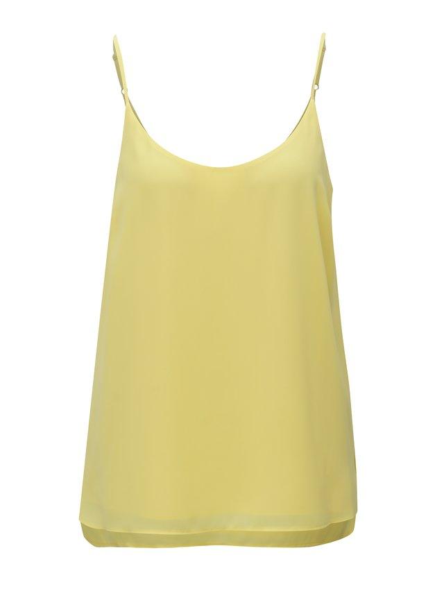41ca6ebff6 Žlutá kabelka s ozdobnou třásní LYDC
