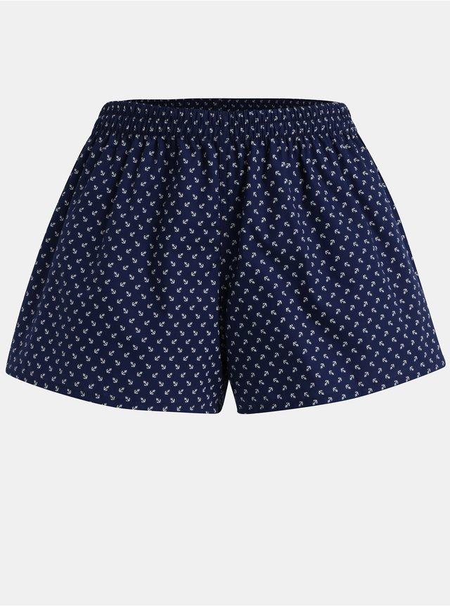 Bílo-růžovo-modré dámské pyžamo ZOOT Originál Plameňáci  9d397e08f4