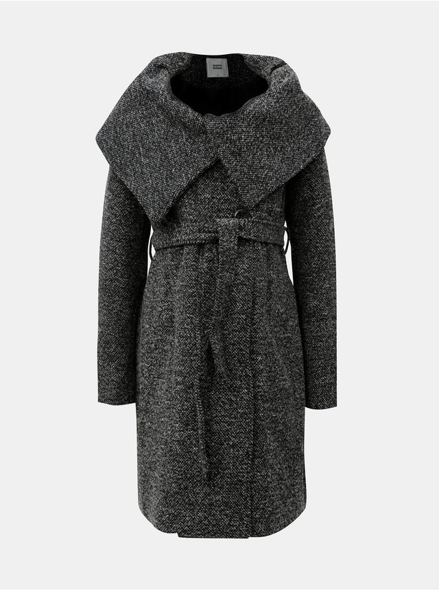 1dc5b2c65fe0 Šedý dlhší kabát VERO MODA Louise Daisy