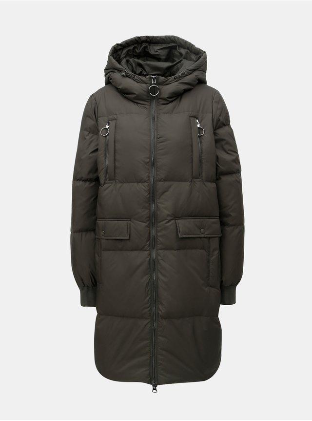 f17ea65e3d Krémový kabát VILA Emmely
