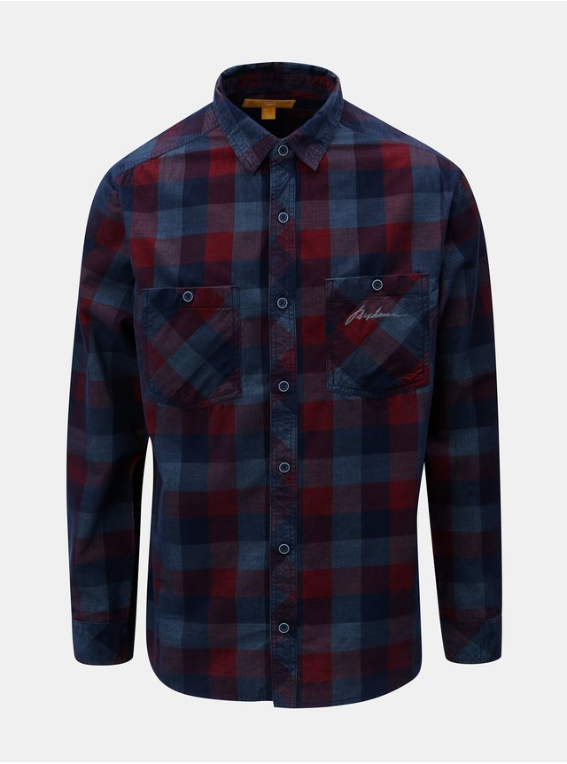 42b174617 Modrá rifľová slim fit košeľa Selected Homme | ZOOT.sk