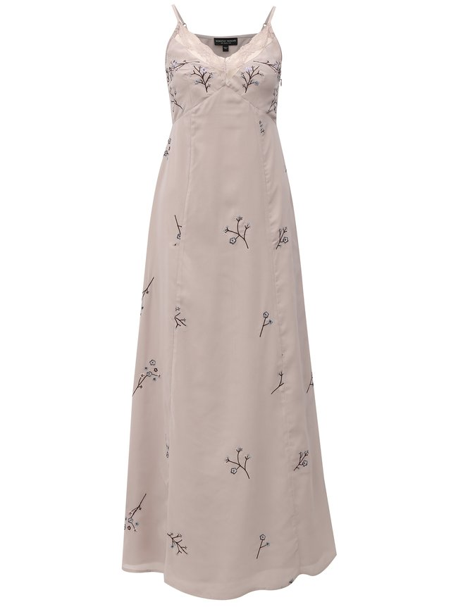 Maxišaty (dlhé šaty) fialová  edcc0f7fca8