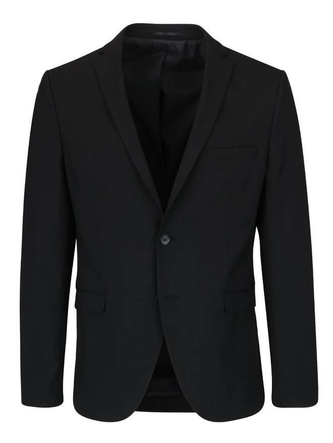 Sacou negru de costum - Selected Homme Newone