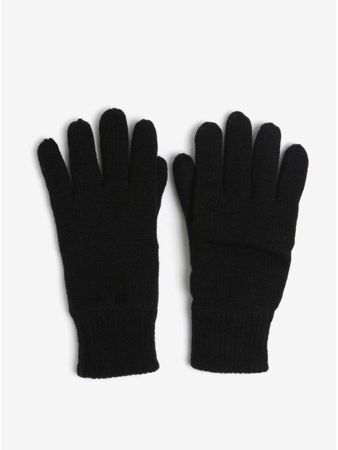 Manusi negre tricotate Burton Menswear London