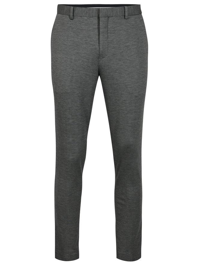 Pantaloni de costum gri melanj cu buzunare - Selected Homme Zero-Merce