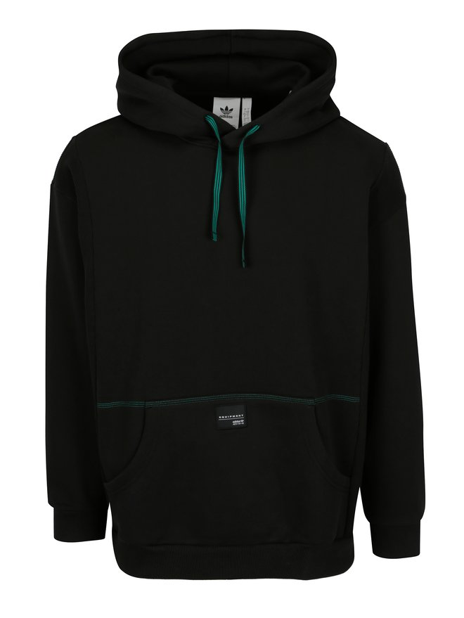 Hanorac negru pentru barbati - adidas Originals