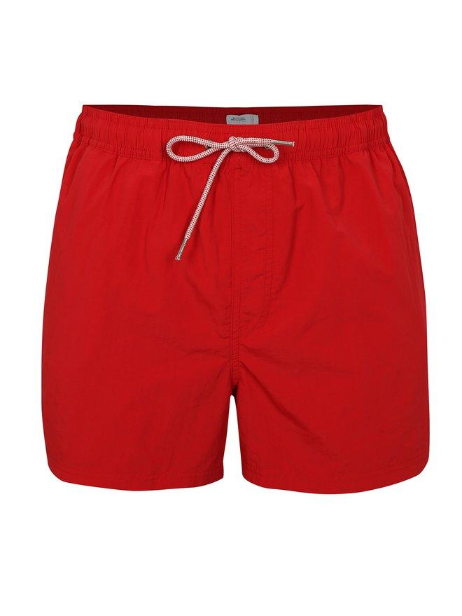 Pantaloni scurti de baie rosii cu snur - Burton Menswear London