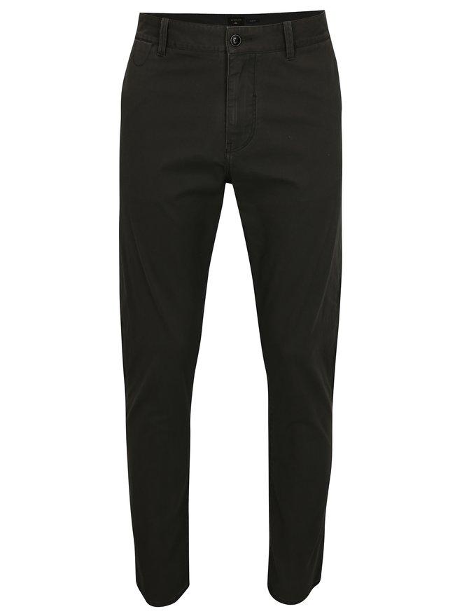 Pantaloni barbatesti gri inchis slim fit chino Quiksilver