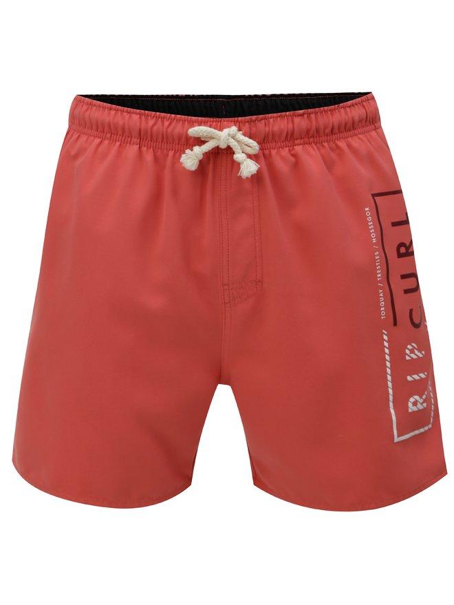 Pantaloni scurti de baie rosii Rip Curl