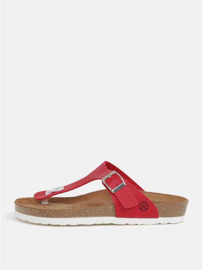 Papuci flip-flop rosu - OJJU Rosas