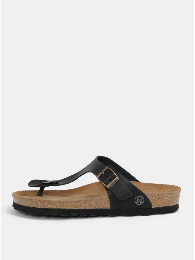 Papuci flip-flop negri - OJJU Rosas