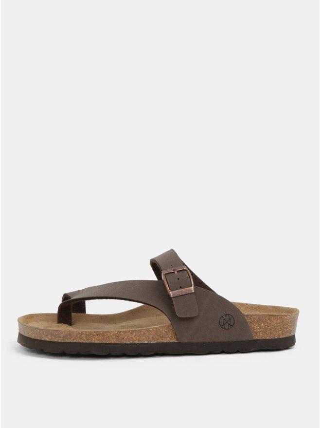 Papuci maro pentru femei - OJJU Yaiza