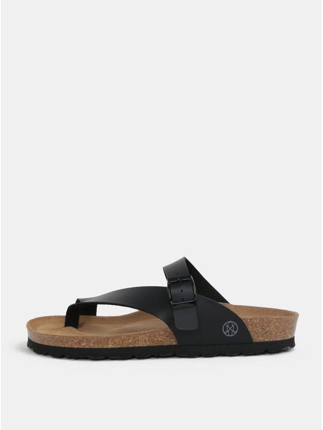 Papuci negri pentru femei - OJJU Yaiza