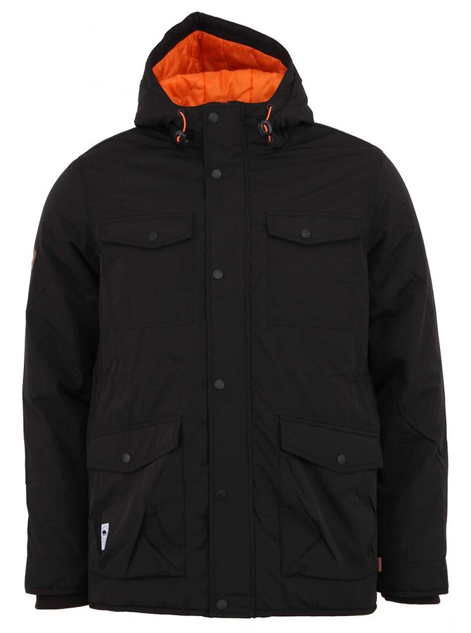 Čierna zimná pánska bunda Bellfield Flero