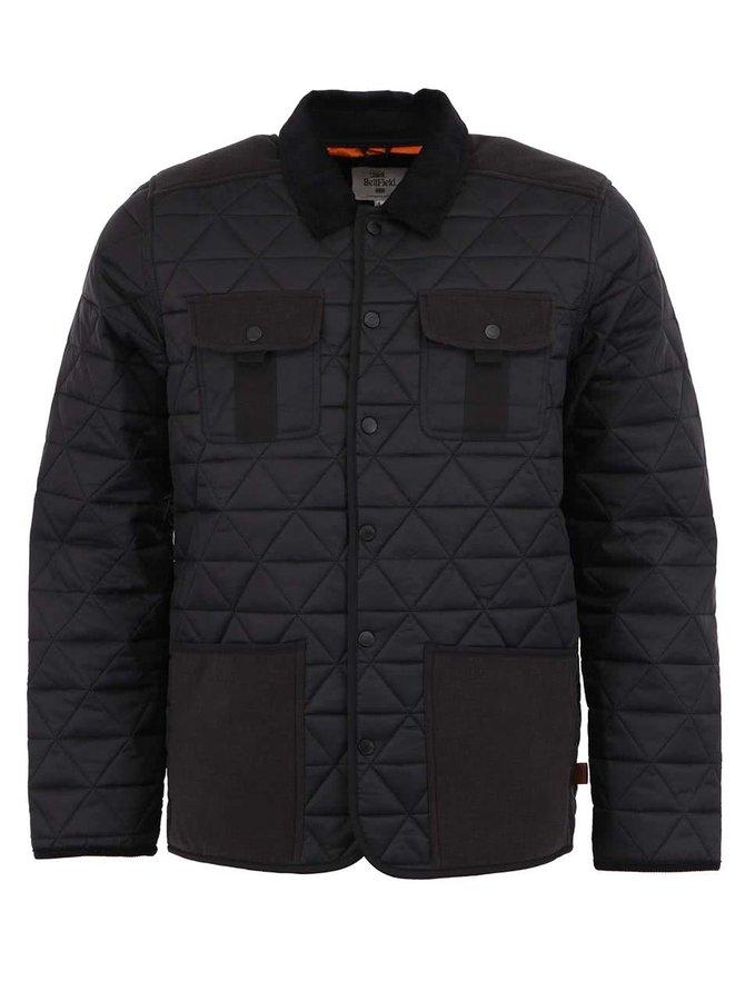 Jachetă bărbătească Bellfield Actin neagră, matlasată