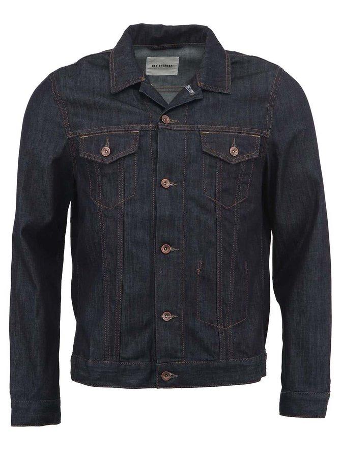 Jachetă bleumarin din denim de la Ben Sherman