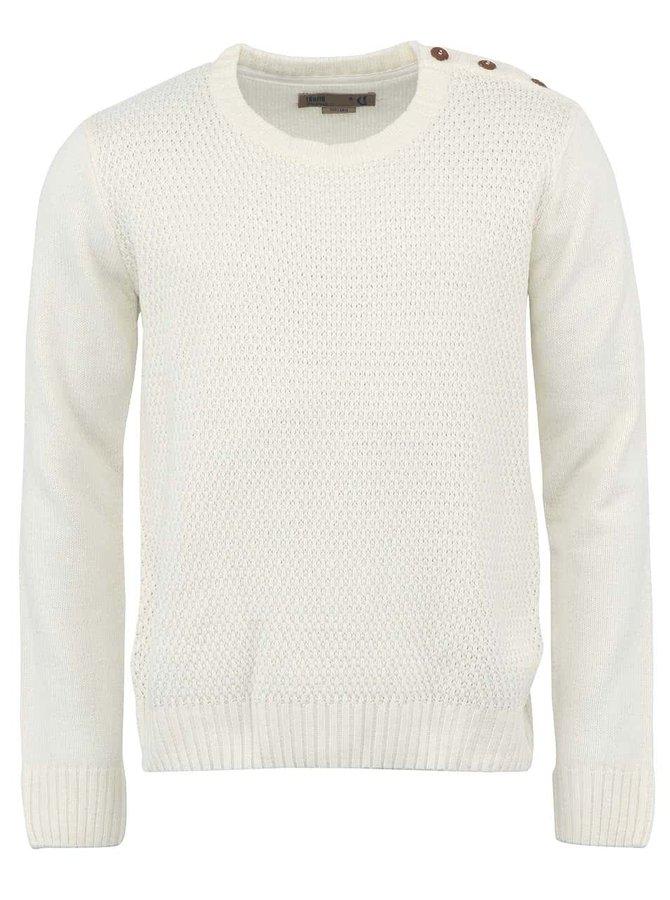 Biely sveter !Solid Elianus