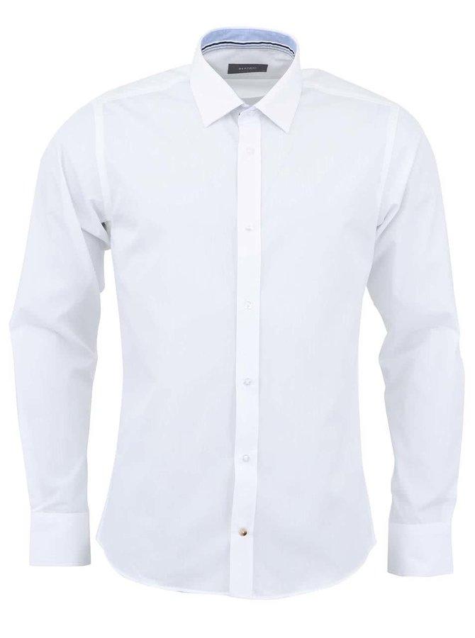 Biela klasická košeľa Bertoni Slim Fit