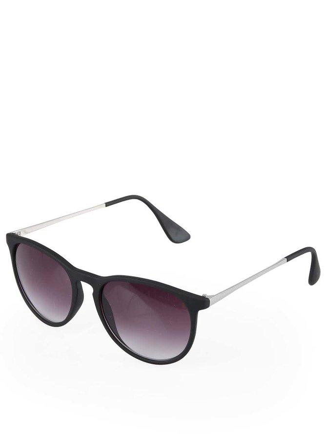Černé sluneční brýle VERO MODA Beetle
