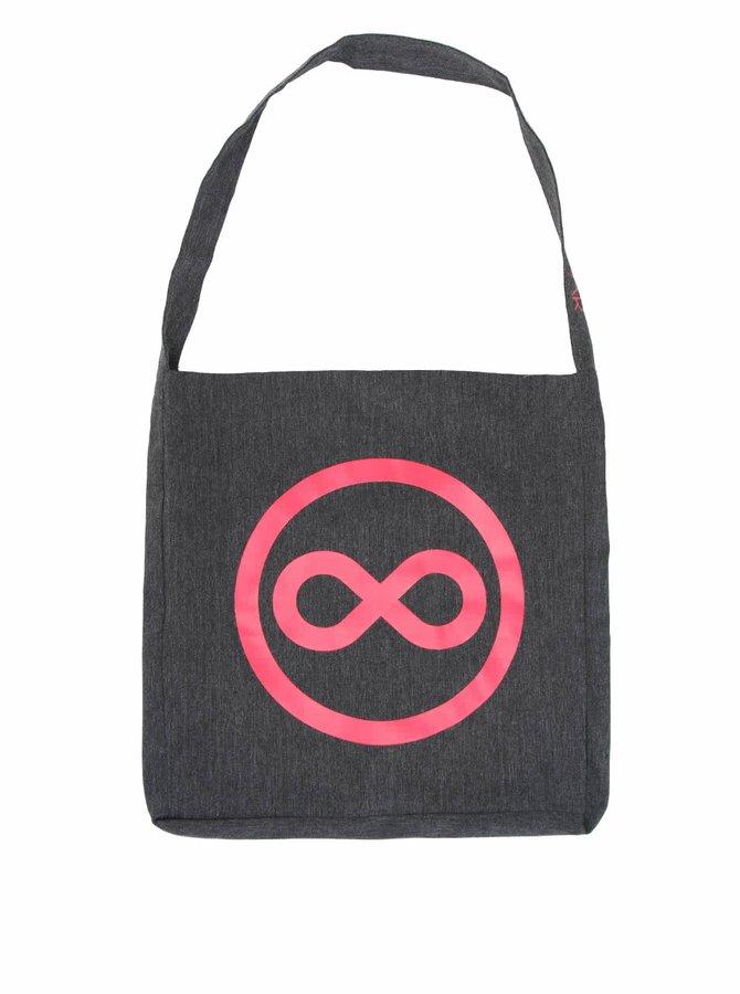 """""""Dobrá"""" taška FOREWEAR s růžovým logem"""