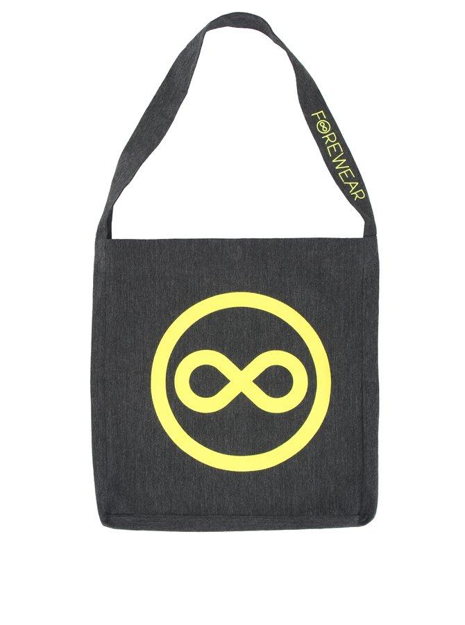 """""""Dobrá"""" taška pre FOREWEAR so žltým logom"""