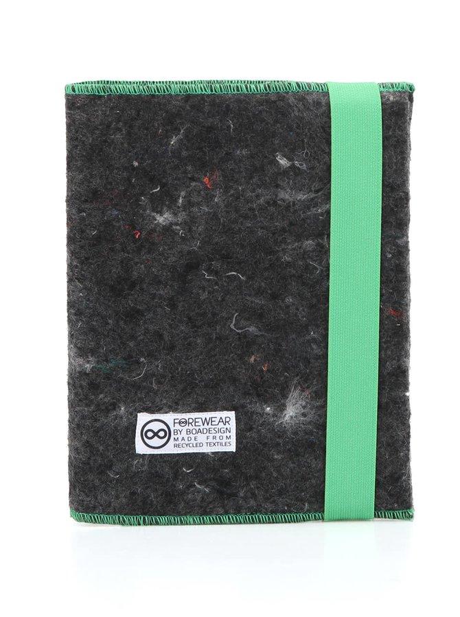 """""""Dobrý"""" zápisník FOREWEAR so zelenou gumou"""