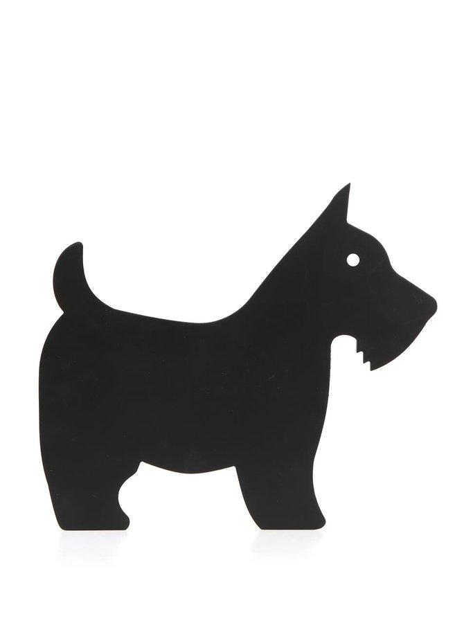 Tablă Sass & Belle cu formă de câine
