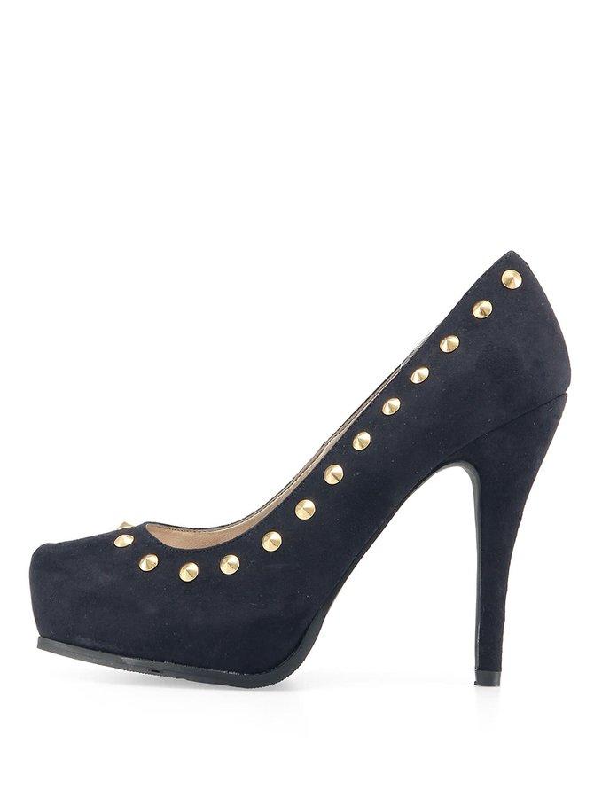 Pantofi negri cu ținte de la Victoria Delef
