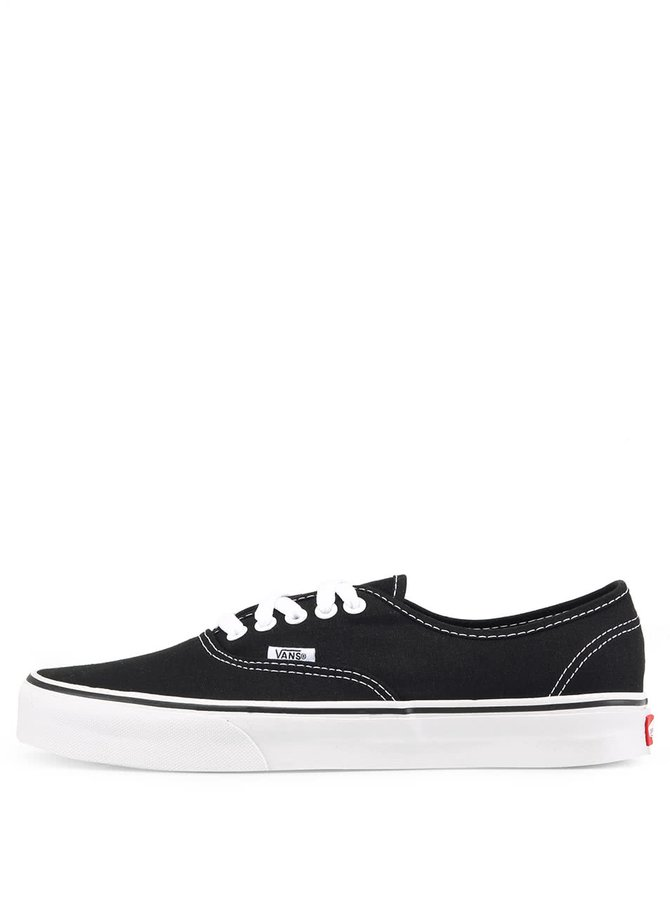 Teniși unisex negri VANS Authentic