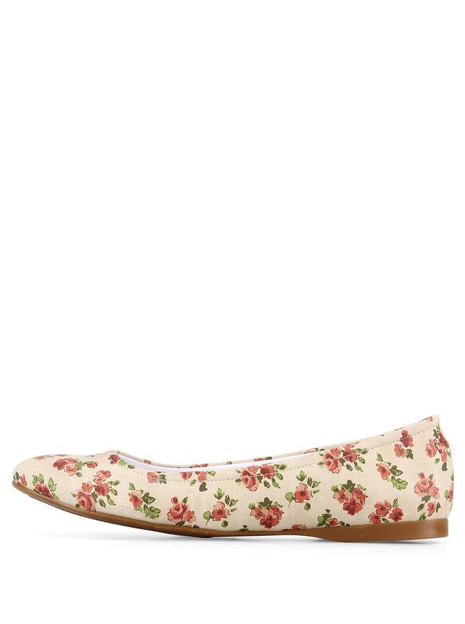 Květované balerínky Dogo Sweet Flowers
