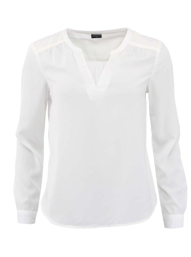 Bluză albă Jacqueline de Yong Moleno