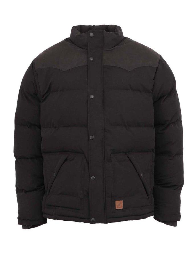 Jachetă neagră de iarnă Fat Moose Canada