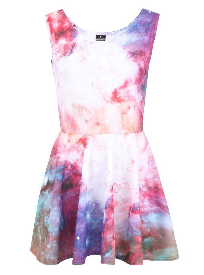 Barevné šaty Mr. Gugu & Miss Go Pink Nebula
