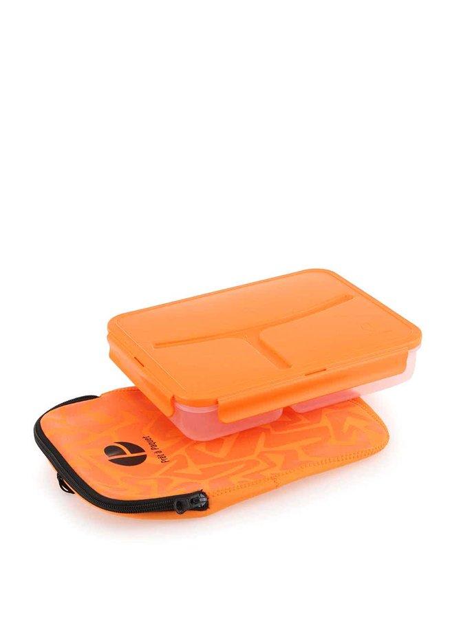 Oranžový box na jídlo Prêt à Paquet
